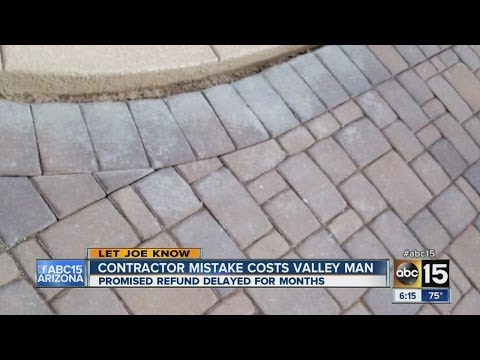 Contractor mistake costs Valley man