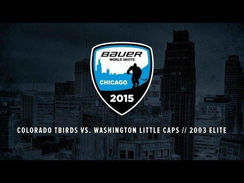 Colorado Tbirds vs. Washington Little Caps // 2003 Elite