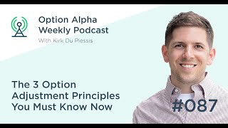 The 3 Option Adjustment Principles You Must Know Now - Show #087