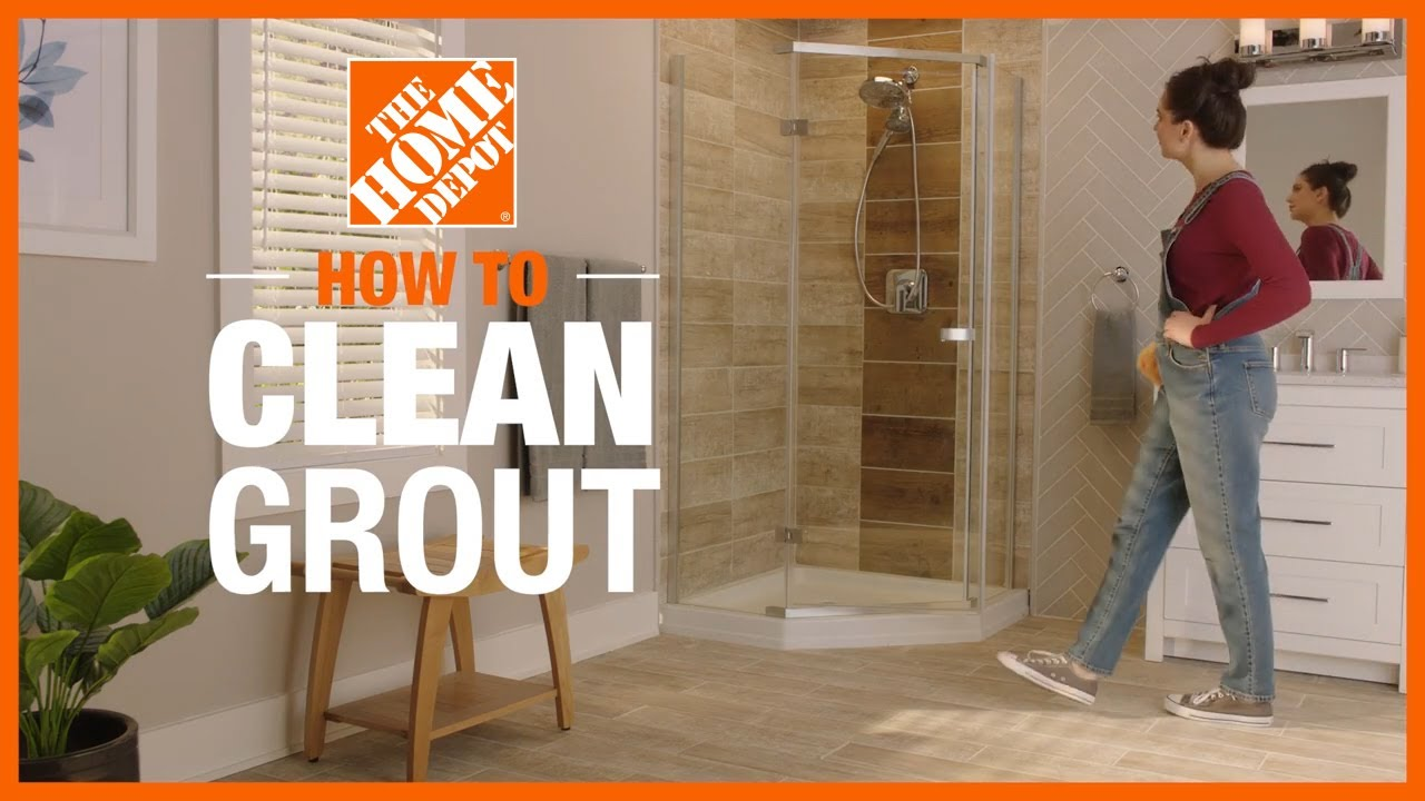 how to clean grout cleaning tips the home depot