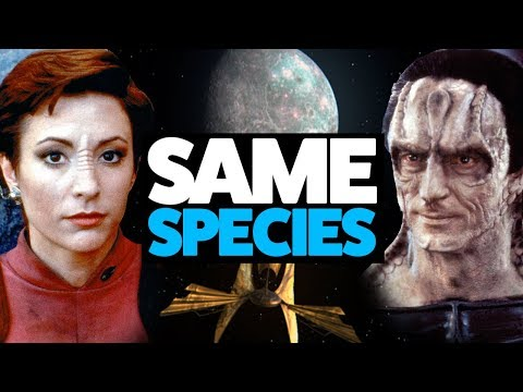 Cardassians and Bajorans are the SAME SPECIES (Star Trek theory)
