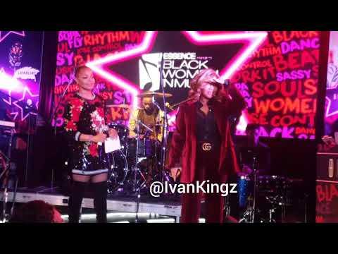 Janet Jackson Surprises Missy Elliott (Essence Black Women In Music 2018)