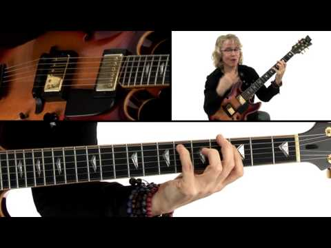 Bebop Etudes Guitar Lesson - Petite Tournesol Breakdown - Sheryl Bailey
