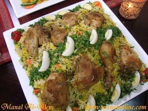 برياني الدجاج بالفرن - مطبخ منال العالم