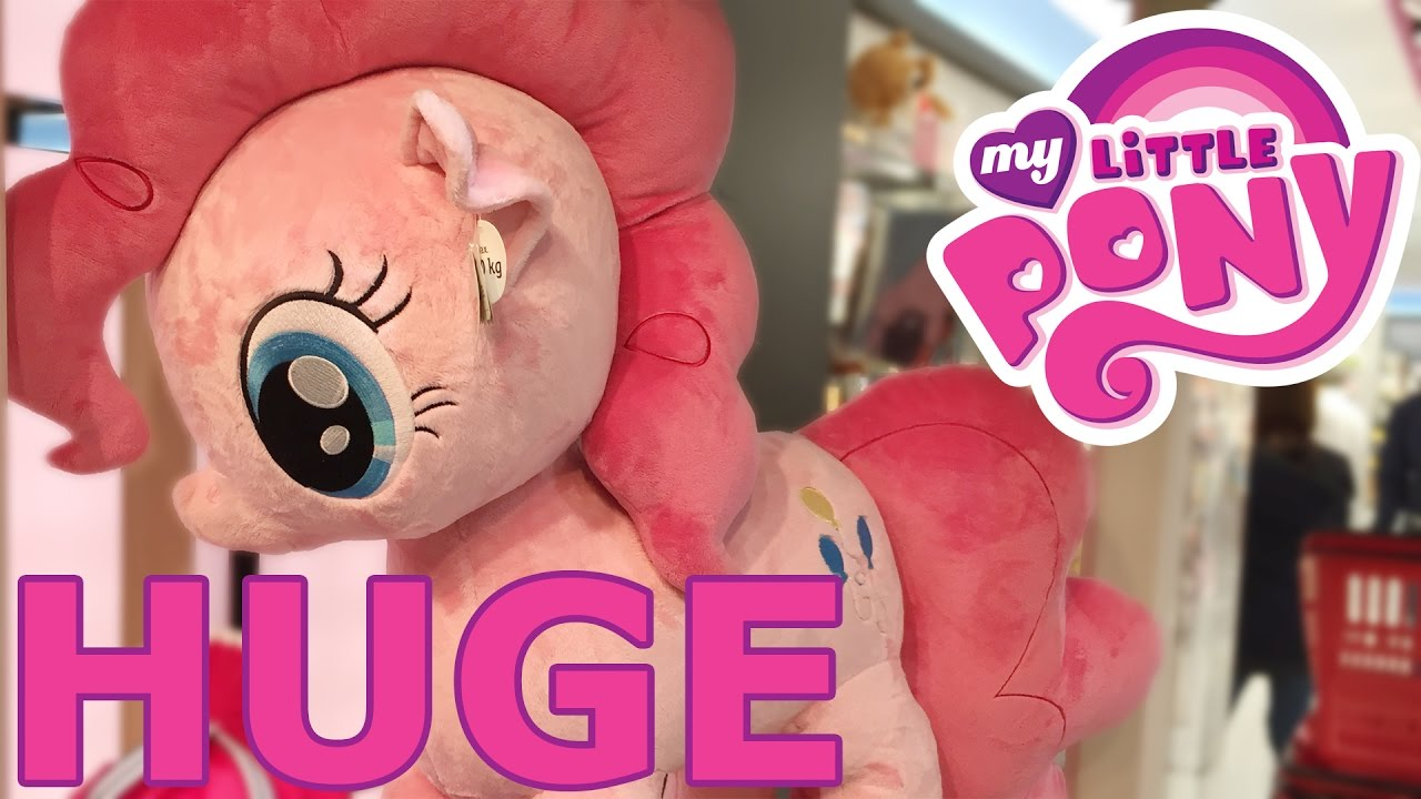 Huge Biggest My Little Pony Stuffed Animal Merchandise Youtube