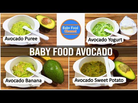 Homemade Baby Food Avocado: 4 Tasty and Easy Avocado Recipes