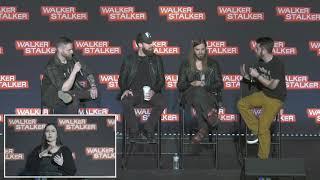 The Walking Dead : Tom Payne & Ross Marquand WSC NJ 2018
