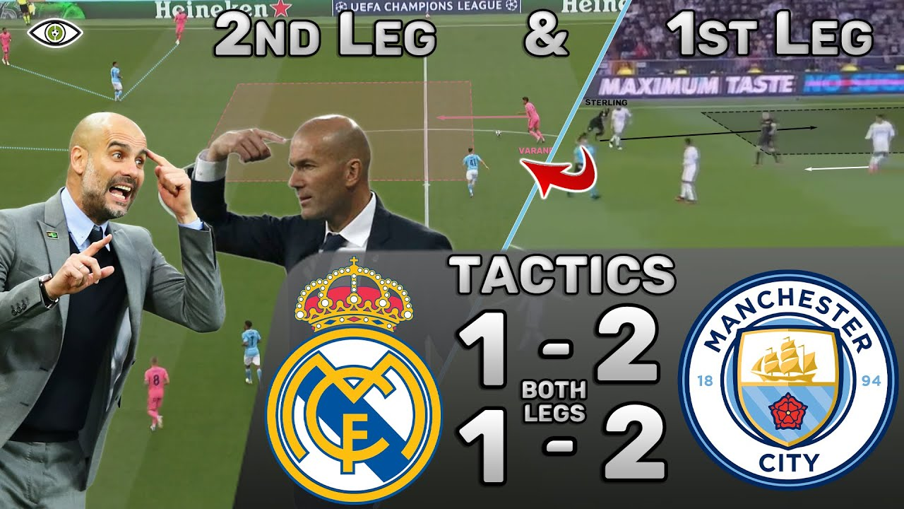 Why Zidane Lost Both Legs vs Pep: Real Madrid vs Manchester City - Tactics (Analysis + Highlights)