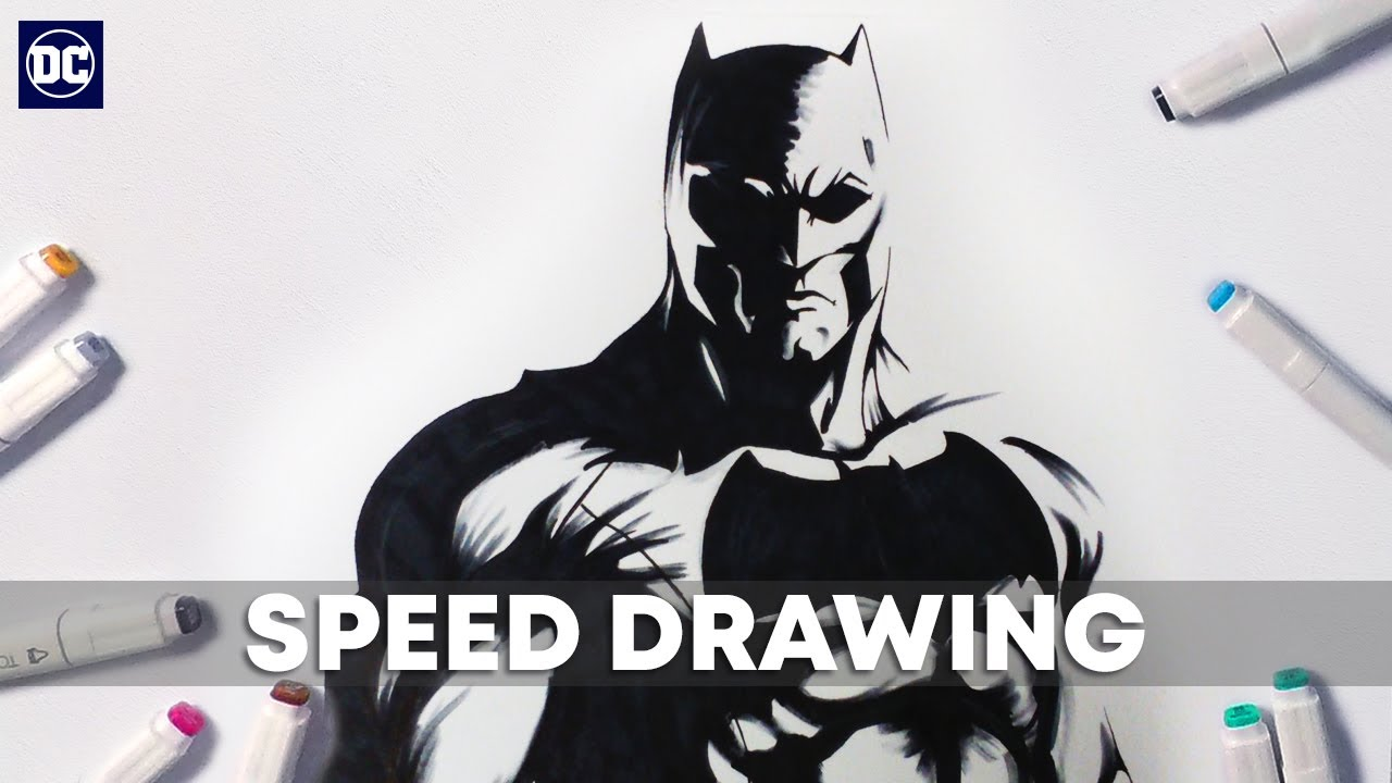 how to draw everything in batman