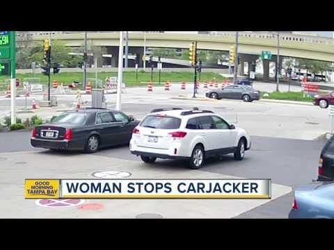Woman stops carjacker in Wisconsin