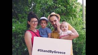 Stand By Greece, The people