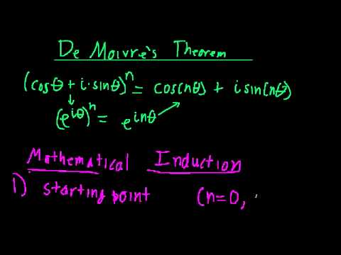 DeMoivre's Theorem (Mathematical Induction)