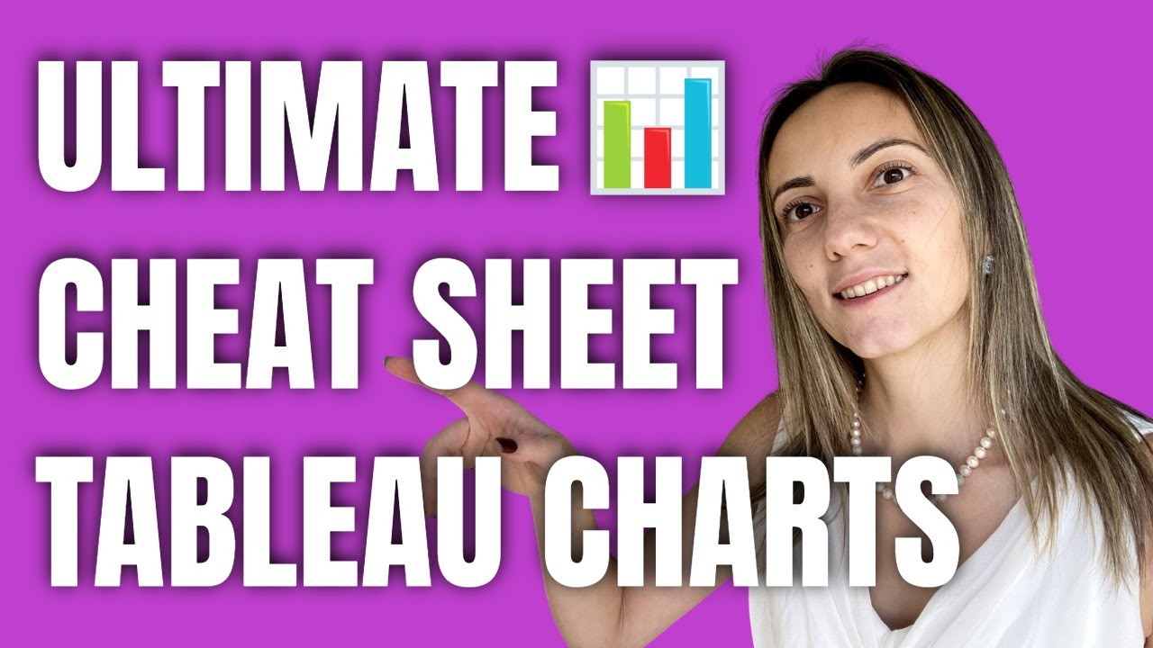 Ultimate Cheat Sheet on Tableau Charts - YouTube