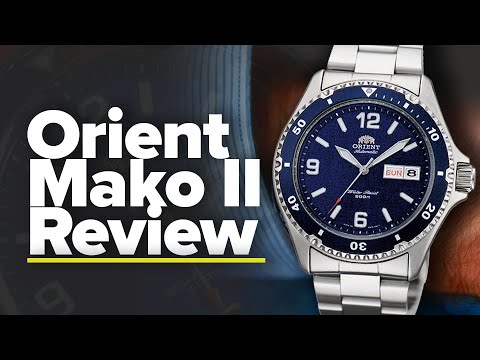 Orient Mako II Review | The Best Affordable Mechanical Diver?