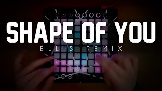 Video Ed Sheeran - Shape Of You | Launchpad Cover | Ellis Remix download MP3, 3GP, MP4, WEBM, AVI, FLV Agustus 2018