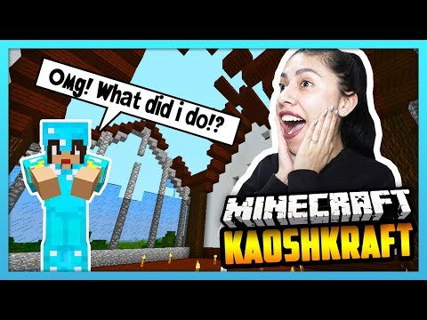 I ACCIDENTALLY BLEW UP OUR HOUSE! - Minecraft Survival: KaoshKraft SMP 3 - EP 84