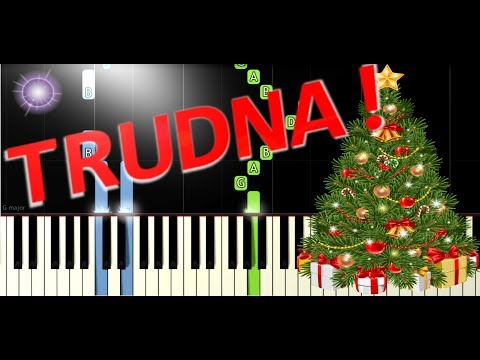🎹 Dzisiaj w Betlejem - Piano Tutorial (TRUDNA! wersja) 🎹