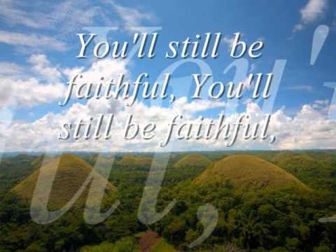 WHISPERS OF MY FATHER - YOU ARE SO FAITHFUL by Instrumental with lyrics