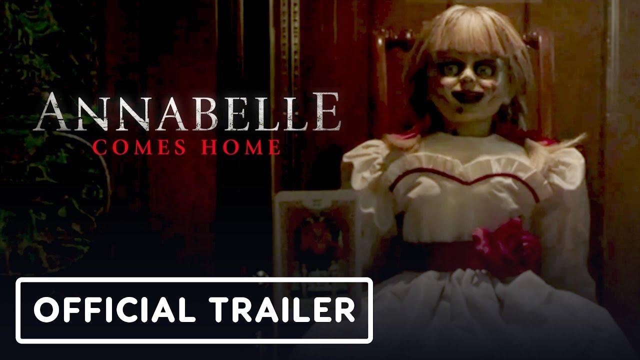 Annabelle Comes Home Official Trailer 2019 Vera Farmiga Mckenna Grace Youtube