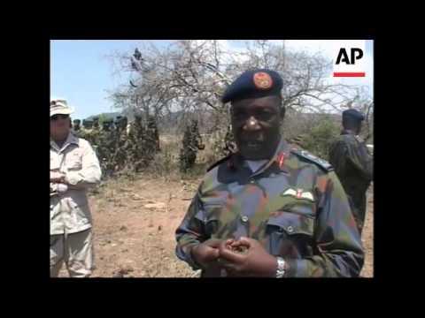 Joint anti-terror training in border area