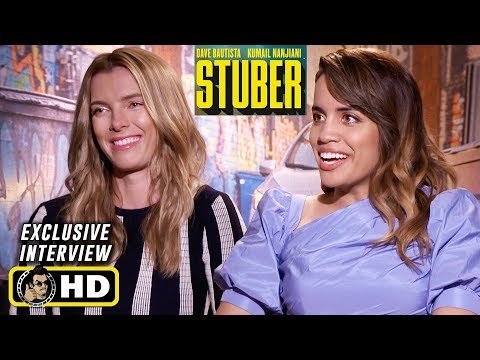 Betty Gilpin & Natalie Morales Interview for Stuber