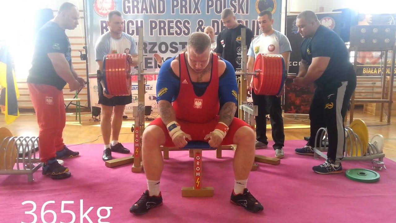 Mistrzostwa Polski GPC Zalesie 365kg/116BW