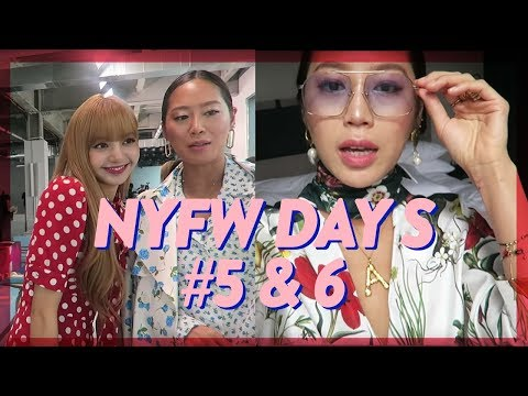 NYFW Days 5 & 6: Lisa 리사 from BLACKPINK, Michael Kors, Oscar de la Renta  Vlog #65  Aimee Song