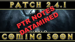 Diablo 3 - 2.4.1 Patch Notes Datamined