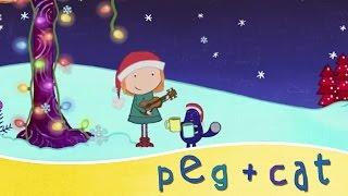 peg cat i m dreaming of a white christmas