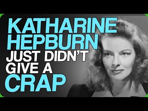 Katharine Hepburn Just Didn't Give A Crap (Discussing Negative Comments And Tweets)