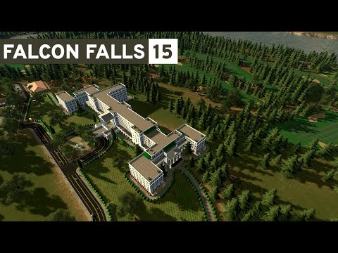 Cities Skylines - Falcon Falls | Part 15  - New Golf Course!