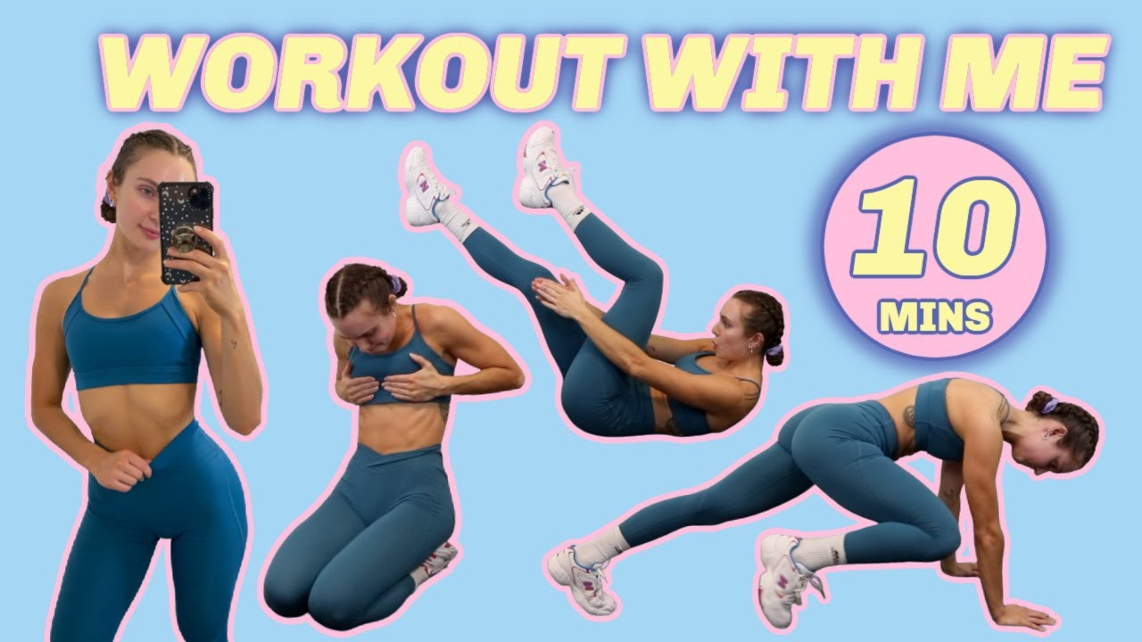 10 MIN AB WORKOUT low impact, beginner friendly, easy on the hips