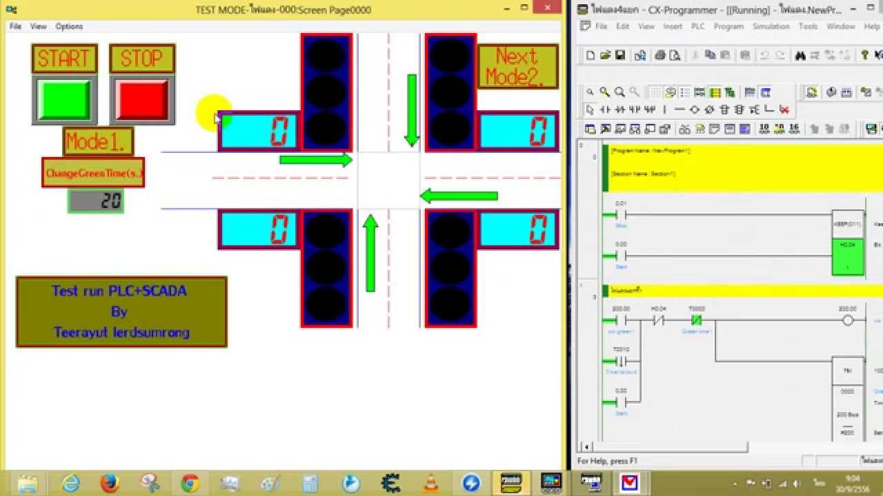 Traffic light control system for an intersection using omron plc traffic light control system for an intersection using omron plc youtube ccuart Image collections