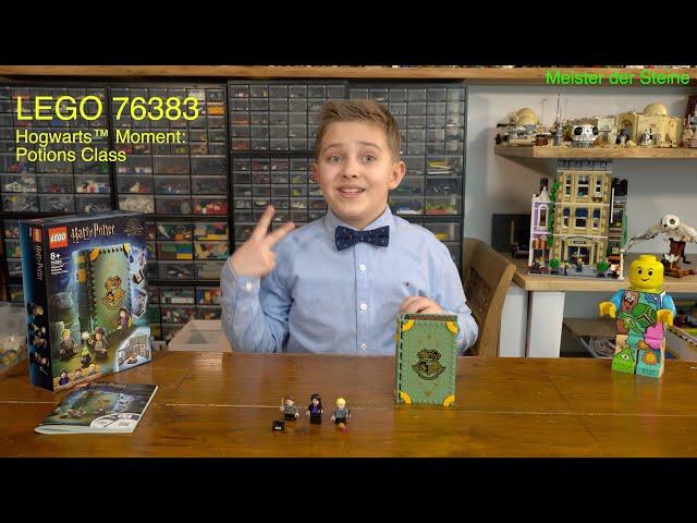 Lego 76383, Hogwarts™, Moment: Zaubertrankunterricht, Potions Class,  Meister der Steine