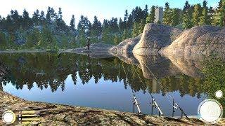 Русская рыбалка 4 - озеро Куори - Лещ у лагеря