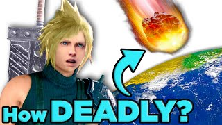 How Deadly Is Sephiroth's Meteor in Final Fantasy 7   The Science of... Final Fantasy