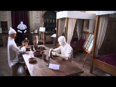 Périgord 2013 -  Visite au musée de la médecine de Hautefort
