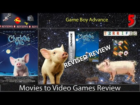 Movies to Video Games Review - Charlotte's Web (GBA) [REVISED REVIEW]