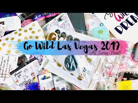 Planner Swag Haul \\ Go Wild Las Vegas 2019 ALL SWAG!!