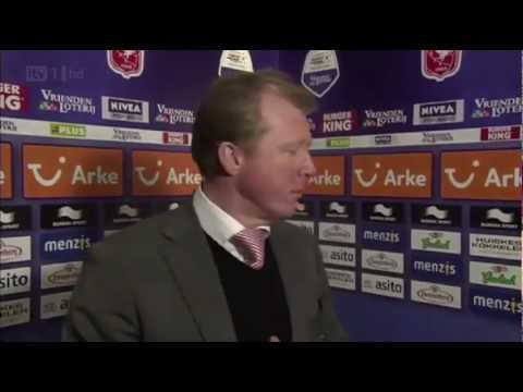 Steve McClaren doesn't know where he is