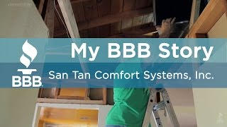 My BBB Story: San Tan Comfort Systems, Inc.