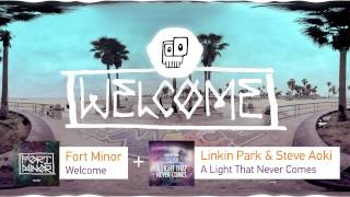 Fort Minor - Welcome + Linkin Park & Steve Aoki - A light that never comes [Mashup by ANDiTKO]