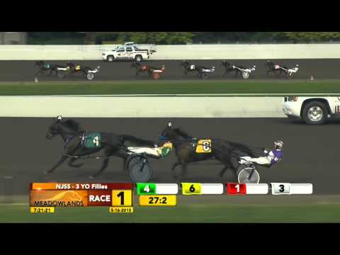 New Jersey Sire Stakes Leg 1 - Lindy's Old Lady - May 16, 2015