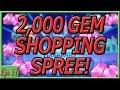 2,000 GEM SHOPPING SPREE! UNLOCKING EVERY CHARACTER! - Disney Magic Kingdoms Gameplay - Ep. 11