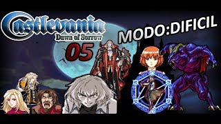 Castlevania: Dawn of Sorrow - Ep.-05 [ Modo: DIFICIL ] HONOR POR EL PERRO LEGENDARIO