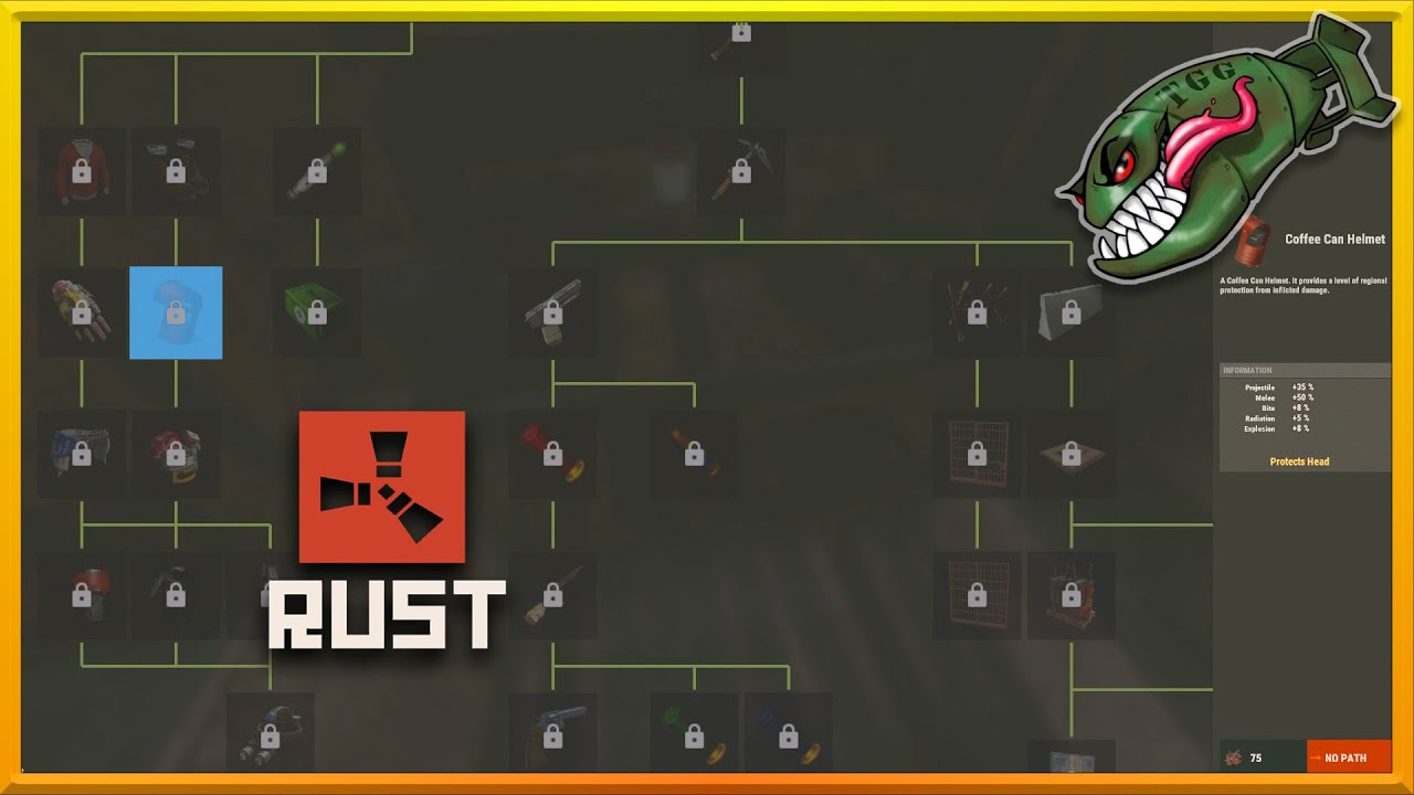 Rust What S Coming First Look Tech Tree Rough List Of Changes Improvements 180 Rust Updates Youtube