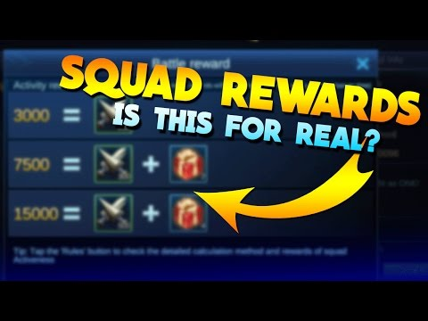 Mobile Legends Squad Rewards! Not What I Expected!