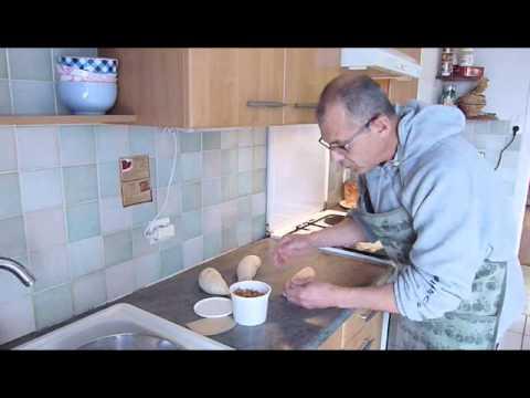 Faire du pain au sesame