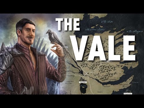 The Vale - Map Detailed (Game Of Thrones)