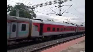 rajdhani n howrah chennai vizag bhubaneshwar express trains complition at moulali station hyderabad